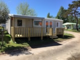 Rental - Mobile-Home Trigano Evo 35 - Camping Saint Hubert