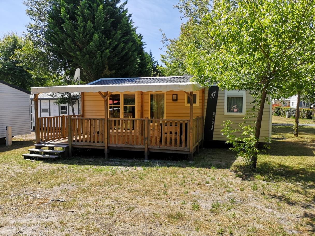 Location - Mobil Home 3 Chambres Confort - 34M² - Camping L'Arbre d'Or