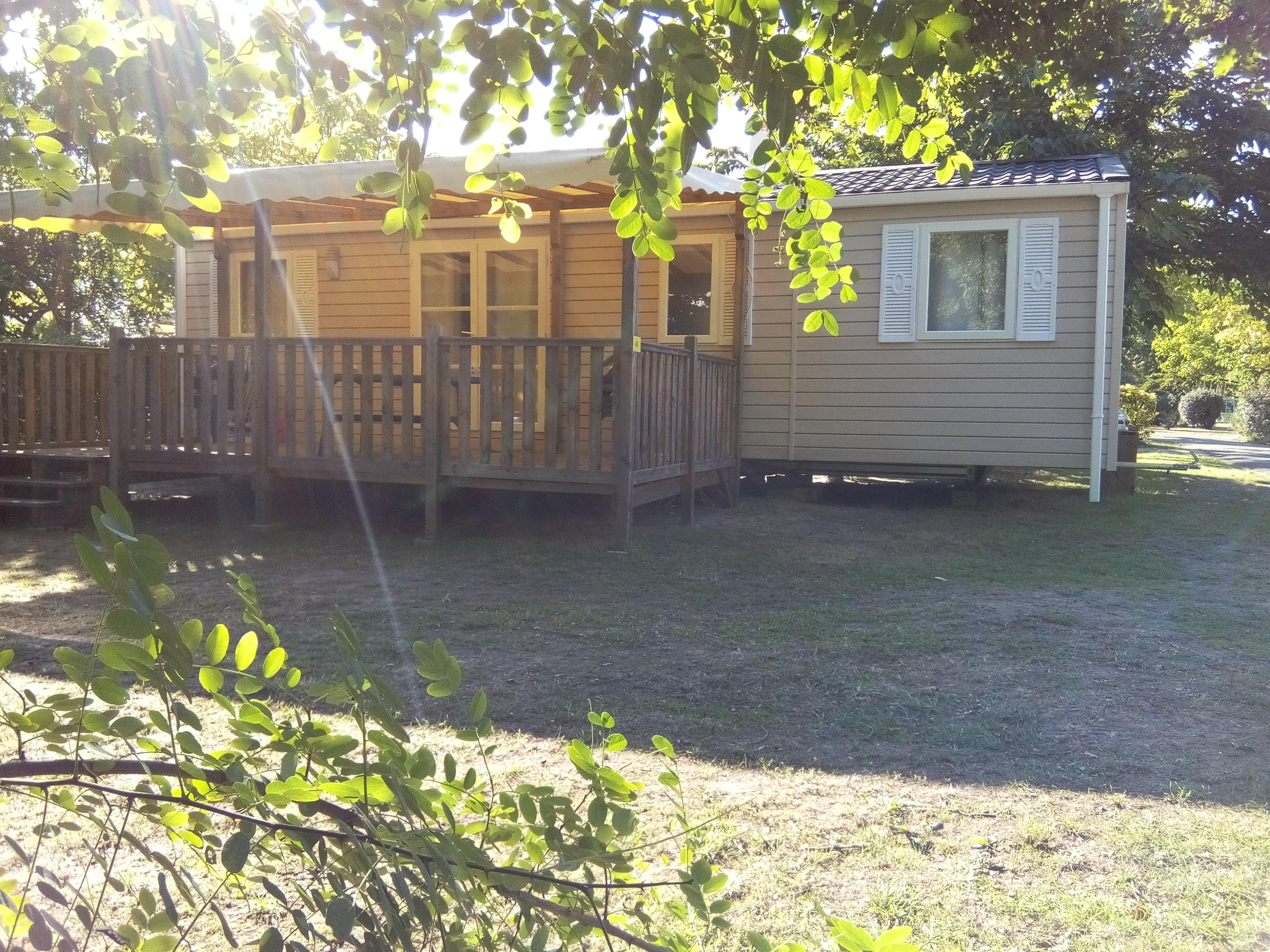 Location - Mobilhome 4 Chambres - 40M² - Camping L'Arbre d'Or