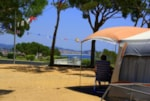 Pitch - Pitch Confort 90m² (car + caravan or camping-car + electricity + water and drainage point) - Camping Internacional de Calonge