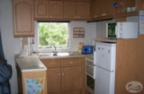 Rental - Mobile-home ECO 2 bedrooms <25 m² + 12 years - Camping Les Mizottes