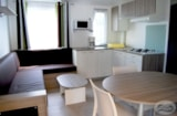 Rental - Mobile-home VIP 3 bedrooms > 32 m² <7 years - Camping Les Mizottes
