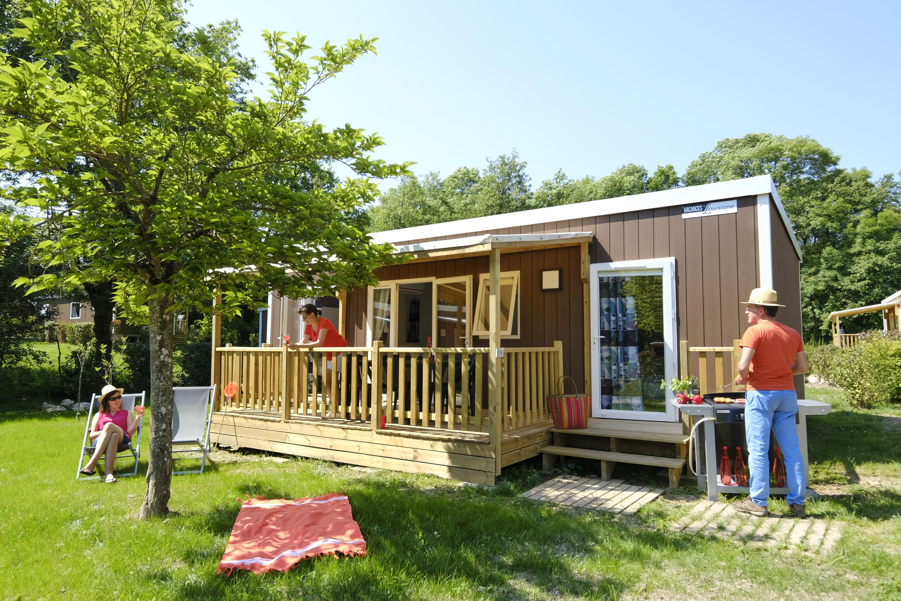 Huuraccommodaties - Cottage Premium Suite Duo - 32M² - Camping La Bretèche****