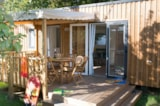 Rental - Mobile-Home Teck 2 Bedrooms + Sheltered Terrace - Camping La Parée Preneau