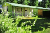 Rental - Chalet Class 3 Bedrooms With Covered Terrace - Camping Moncalm