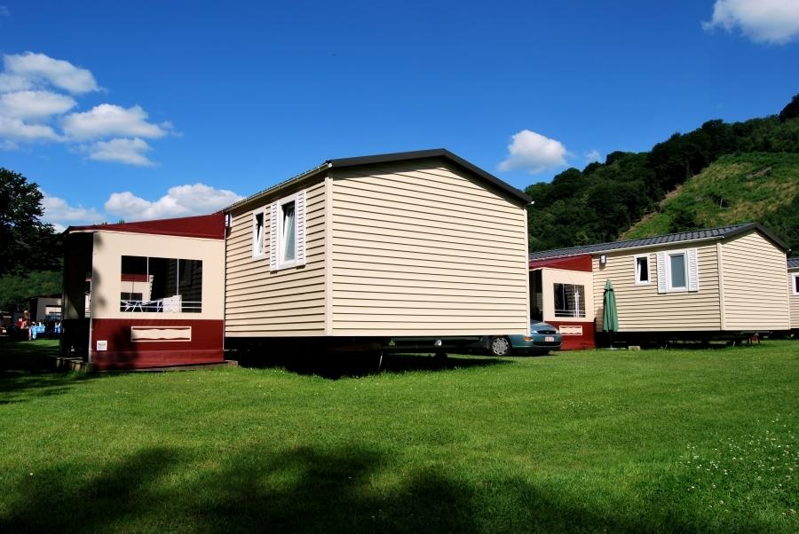 Mobile home 35m² / 2 bedrooms - Half-covered terrace