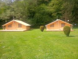 Safari Tent 35M² / 2 Bedrooms - Terrasse (With Woodstove)