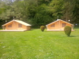Rental - Safari tent 35m² / 2 bedrooms - terrasse (without toilet blocks) - Camping Floreal La Roche en Ardenne 1