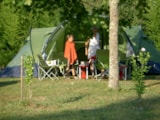 Pitch - Campingpitch 1 person included - Camping Sites et Paysages FONTAINE DU ROC