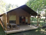 Rental - Safari tent - Camping Sites et Paysages FONTAINE DU ROC