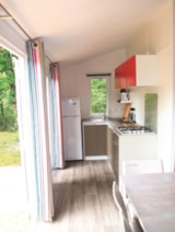 Rental - MOBIL HOME LUXE - Camping Sites et Paysages FONTAINE DU ROC