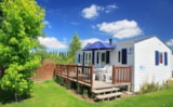 Rental - 2-bedroom mobile home / Terrace / TV - Camping Haliotis
