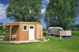 Pitch - Luxury Pitch (private facilities + electricity 16amps) - Camping Haliotis