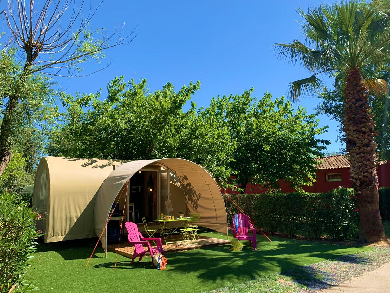 Location - Coco Sweet, Insolite - Samedi - 1/2 Chambres - Camping L'Air Marin