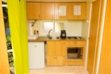 Rental - 1-bedroom Mobile-home - Camping Bell Sol