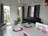Rental - Mobile home VIP Cap Deseo 34 m² with Jacuzzi - Camping Les Lauriers Roses