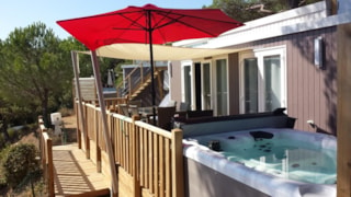 Mobile home VIP Cap Deseo 34 m² with Jacuzzi