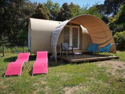Huuraccommodatie - Coco Sweet Quatro (Zonder Privé Sanitair) - Camping Les Lauriers Roses