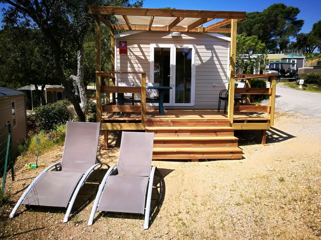 Location - Evo 20M2  Confort / Clim. - Camping Les Lauriers Roses