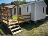 Rental - Mobile Home Standard  Evo 24M² - Camping Les Lauriers Roses