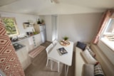 Rental - Mobile home VIP Confort EVO 29m² with Jacuzzi - Camping Les Lauriers Roses