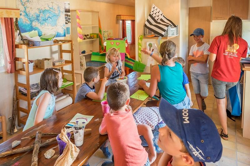 Entertainment organised Camping Manoir de Ker An Poul - Sarzeau