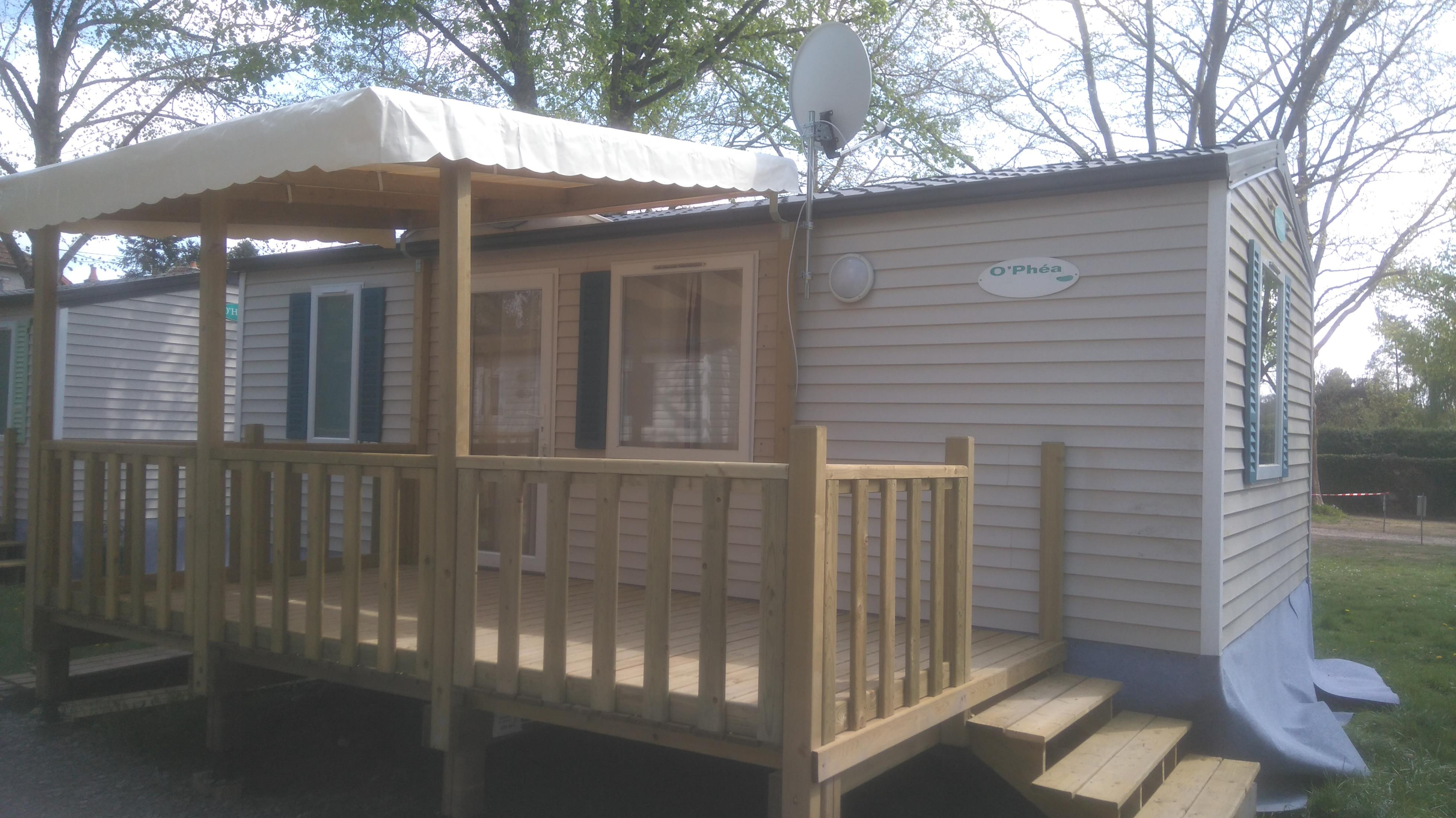 Location - Mobil-Home Privilege (2 Chambres) - Camping Les Chambons