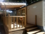 Rental - Mobile-home PRIVILEGE (2 bedrooms) - Camping Les Chambons