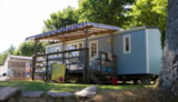 Rental - Trigano Mobile Home 26m2 - Camping SOLEIL LEVANT
