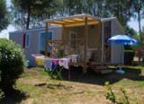 Rental - Mobile-home RIDEAU MALAGA duo COMPACT, 31m2 Year 2016/2017/2018,  Arrival day Sunday - Camping SOLEIL LEVANT