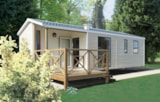 Rental - Mobile-home RIDEAU MALAGA trio, 38m2, 3 bedrooms, year 2016 and 2017, arrival day on Monday - Camping SOLEIL LEVANT