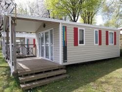 Mobile-Home Rideau Panama Duo 32M2, Year 2015, Pitchnumber 141