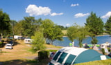 Pitch - Pitch LAKE SIDE - Camping SOLEIL LEVANT