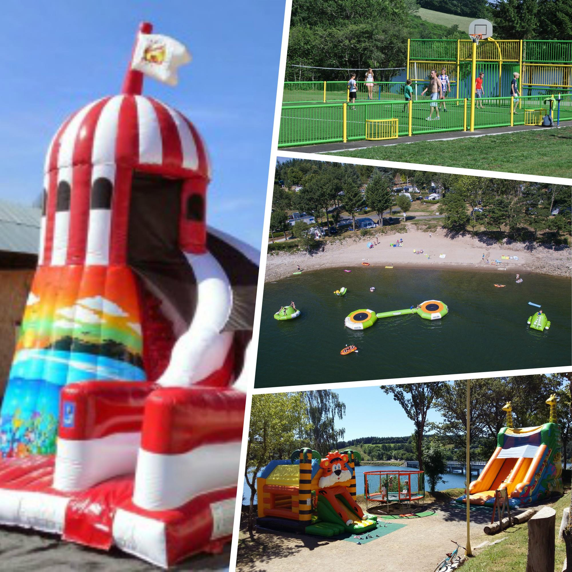 Entertainment organised Camping SOLEIL LEVANT - CANET DE SALARS