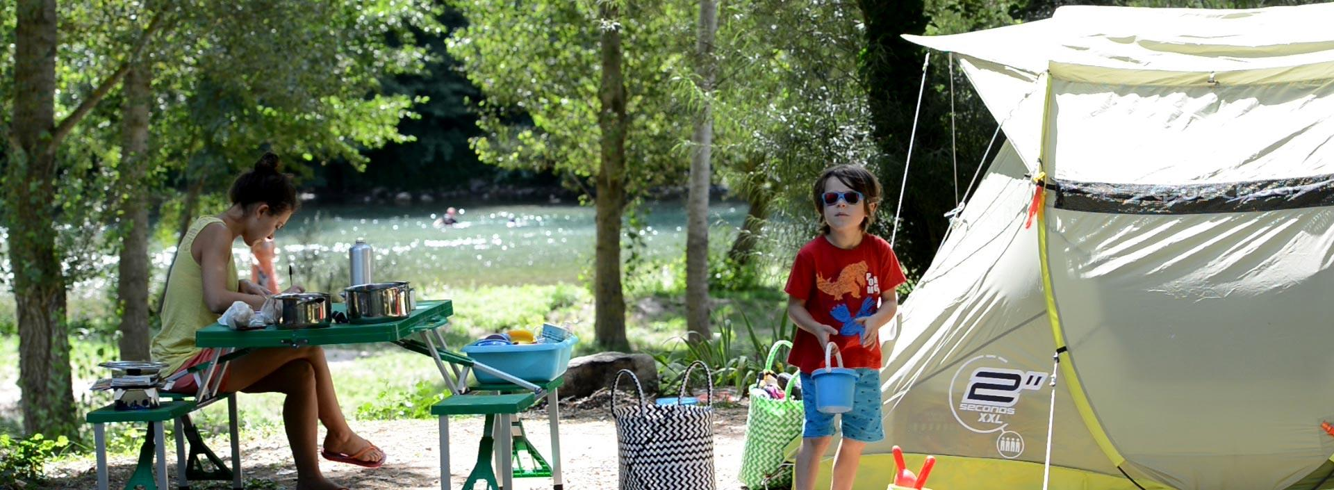 Betrieb Camping Les Cerisiers - Compeyre