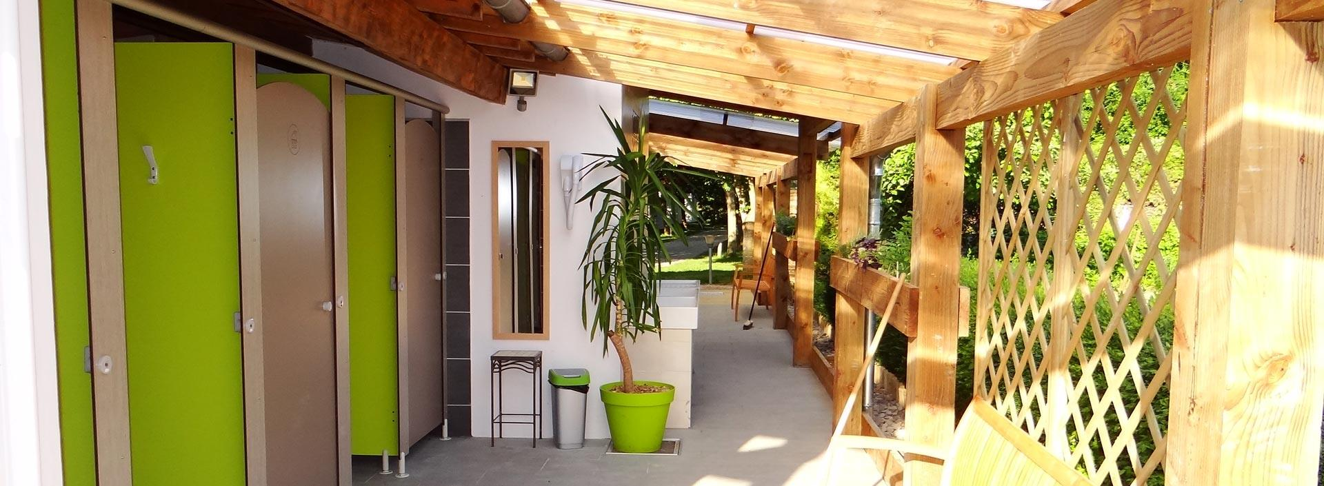 Camping les Cerisiers, Compeyre, Aveyron