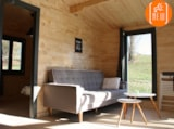 Rental - Chalet Eucalyptus 35 m² - 2 bedrooms / living with equipped kitchen / bathroom / Wc / terrace - - La Parenthèse - Camping Les Ormes