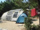 Pitch - Comfort Package (1 tent, caravan or motorhome / 1 car / electricity 10A) - Camping La Buissiere