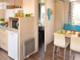 Rental - Mobile home CONFORT 32m2 /2 bedrooms / covered terrace / TV - Camping La Buissiere