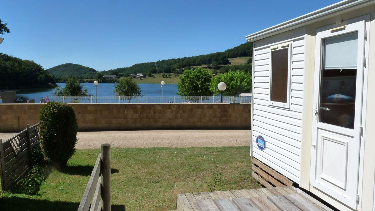 Accommodation - Mobil-Home Selves (With Direct View To The Lake) - Camping LA ROMIGUIERE