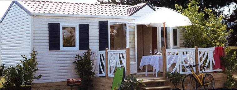Location - Cottage Savanah - Camping Trestraou