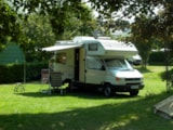 Pitch - Pitch: camping-car + electricity + water + draining - Domaine de Trestraou