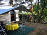 Pitch - Comfort Package (1 tent, caravan or motorhome / 1 car / electricity 10A) - Flower Camping Le Lac aux Oiseaux