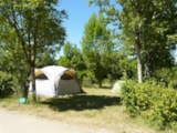 Pitch - Nature Package (1 tent, caravan or motorhome / 1 car) - Flower Camping Le Lac aux Oiseaux