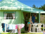 Rental - FUNFLOWER CONFORT 20m² (2 bedrooms) without toilet blocks - Flower Camping Le Lac aux Oiseaux