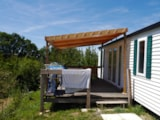 Rental - Mobile-home ECHO 31 m² (2 bedrooms) - Flower Camping Le Lac aux Oiseaux