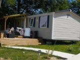 Rental - Mobile-home CONFORT PLUS 31 m² (3 bedrooms) - Flower Camping Le Lac aux Oiseaux