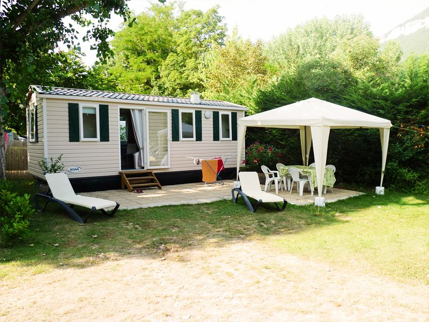 Accommodation - Mobil-Home Mercure - Camping DES DEUX RIVIERES