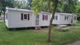 Rental - Mobil-Home 32M² - 2 Bedrooms - Camping LARRIBAL
