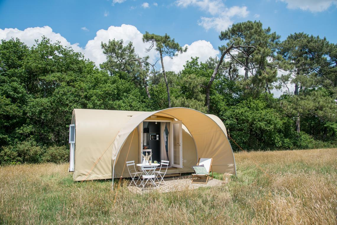 Huuraccommodaties - Coco Sweet 2 Kamers - Camping LARRIBAL